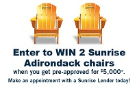 Enter to win two Adirondack Chairs