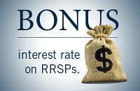 RRSP Bonus Rate Available to Sunrise members