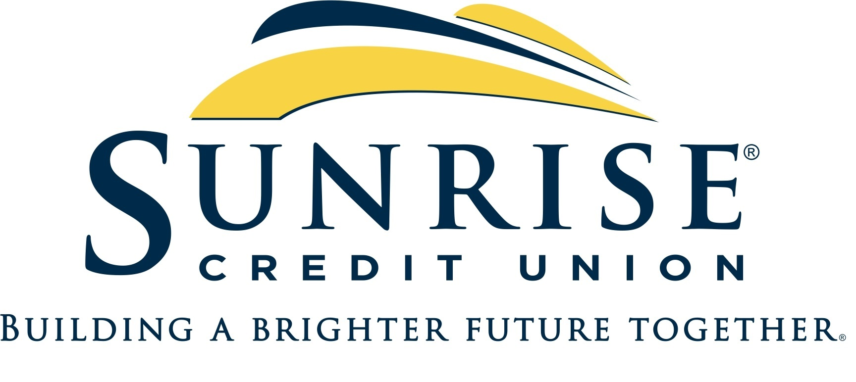 Sunrise Credit Union Logo with Tag